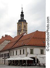広場, 教会
