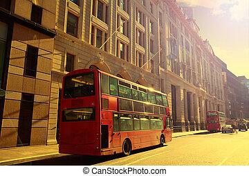 広場, 財政 地区, 通り, マイル, ロンドン, イギリス