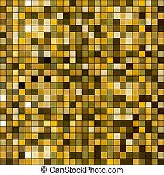 広場, 金, pattern., seamless, きらめき, ベクトル, texture.