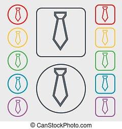 広場, frame., 印。, シンボル, ボタン, ベクトル, タイ, ラウンド, アイコン