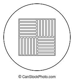 床材, 色, laminate, 黒い円, アイコン