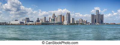 底特律, 地平線, 全景