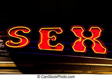 店, セクシー, 入口