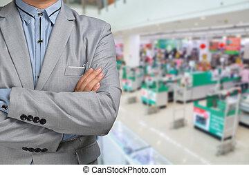 店, ビジネス, スーパーマーケット, r, ハイパーマーケット, 立ちなさい, ∥あるいは∥, プレゼント, 人
