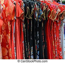 店, 伝統的な衣類, 中国語