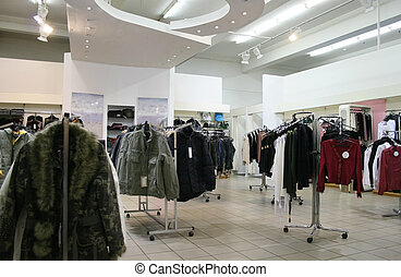店, 衣服