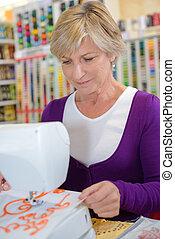 店, 趣味, 裁縫