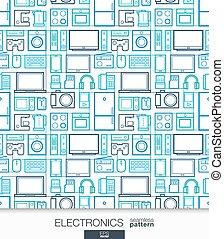 店, wallpaper., pattern., seamless, デジタル, ホームエレクトロニクス
