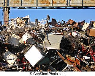 废弃物场地