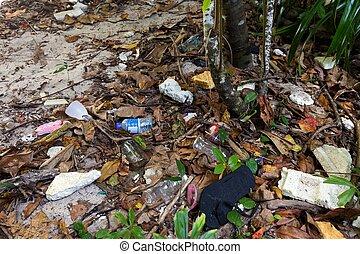 废物, 塑料, 污染