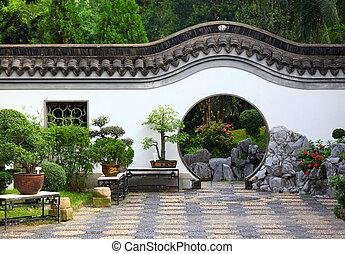 庭, 中国語
