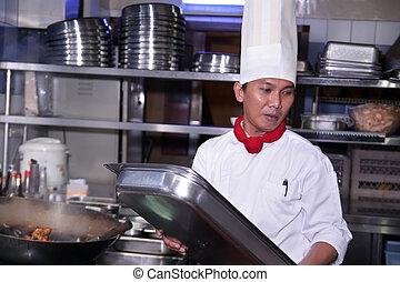 廚師, 工作