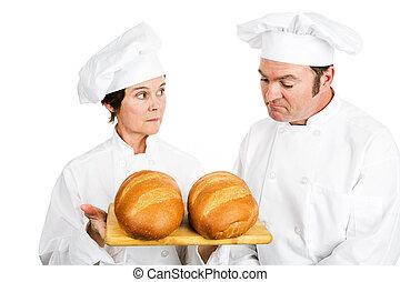 廚師, 由于, 義大利 麵包