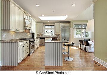 廚房, 在, 當代, 家