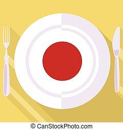 廚房, ......的, 日本