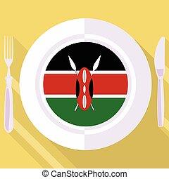 廚房, ......的, 肯尼亞