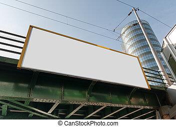 廣告欄, 旗幟