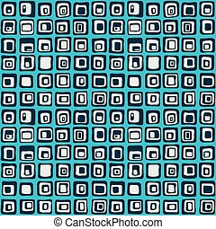 廣場, 光滑, seamless, 圖案, backgrownd, 紡織品, 矢量, 网, style.