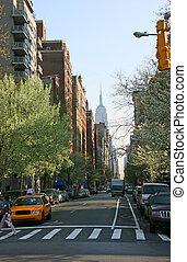 廣場, 第5, 華盛頓, 約克, 新, 曼哈頓, 大道