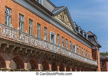 建物の正面, 歴史的, aurich, marstall