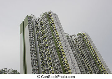 建物の正面, 2016, 超高層ビル