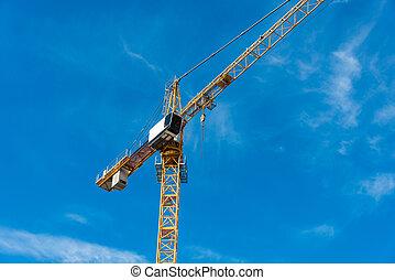 建物クレーン, 建設, 次に