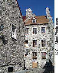 建物石, 古い