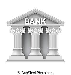 建物石, 銀行