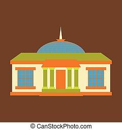 建物, オンタリオ, シルエット, 政府, オタワ, 議会の丘