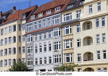 建物, ドイツ, 芸術 nouveau, kiel