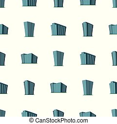 建物, パターン, 現代, seamless, 高層