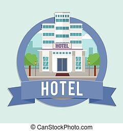 建物, ホテル