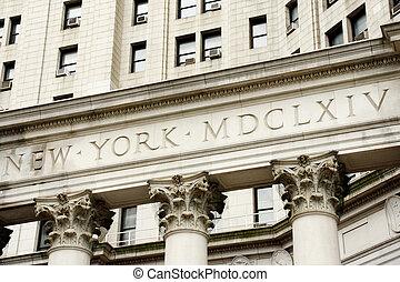 建物, マンハッタン, 市の