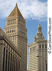 建物, マーシャル, 裁判所, thurgood, 市の