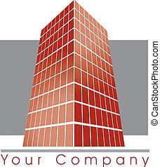 建物, ロゴ