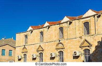 建物, 中に, ∥, 歴史的, 中心, の, larnaca, -, キプロス