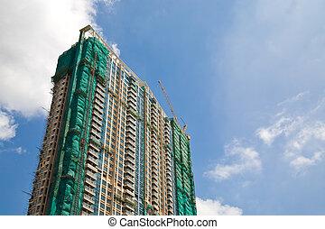 建物, 住宅の, 建設