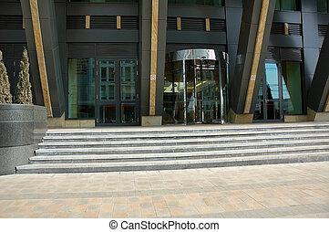 建物, 入口, 現代