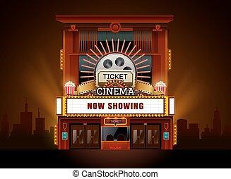 建物, 劇場, 映画館