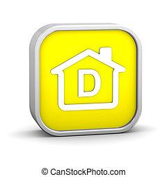 建物, 効率, エネルギー, d, 分類
