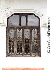 建物, 型, 窓, 前部