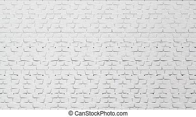 建物, 壁, 現代, 要素, ベクトル, 白い煉瓦