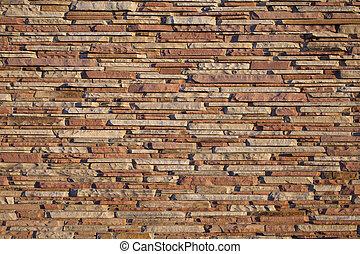 建物, 壁, 砂岩