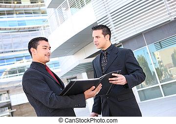 建物, 多様, オフィス, ビジネス チーム