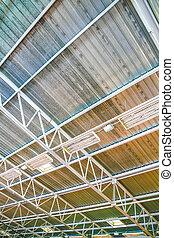 建物, 天井, 産業