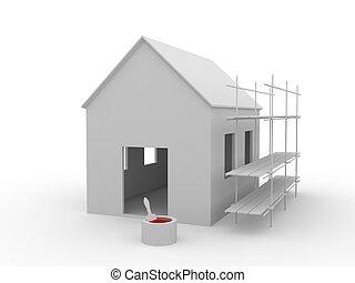 建物, 家