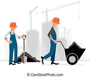 建物, 建築者, サイト