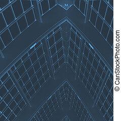 建物, 抽象的