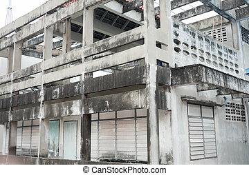 建物, 捨てられた