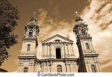 建物, 教会, piously-uspenskoj, vitebsk